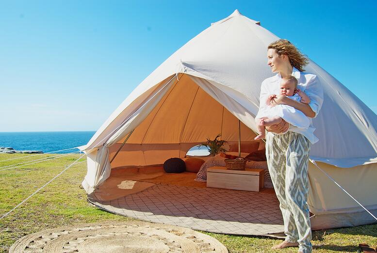 canvas wall tents