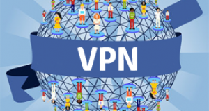 data by using VPN services
